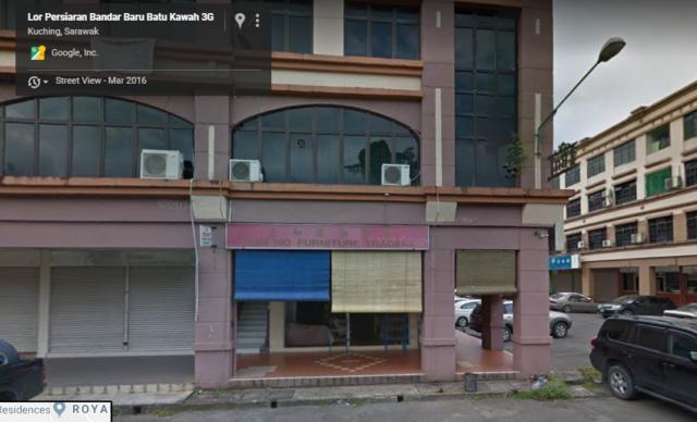 Furniture shop beneath