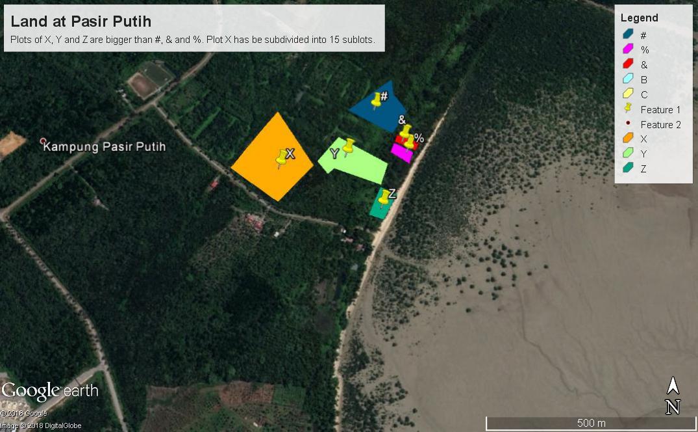 Pasir Putih Lands for Sale