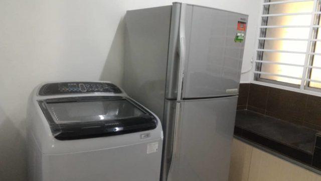 Washing Machine & Refrigerator
