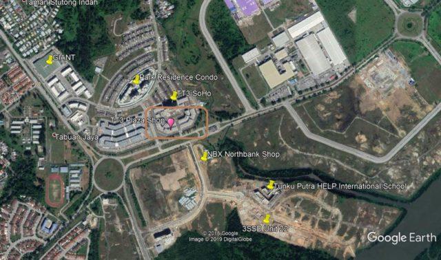 TT3 Plaza Google Map