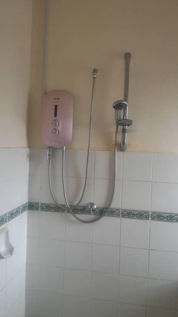 Heater in Master Bathroom