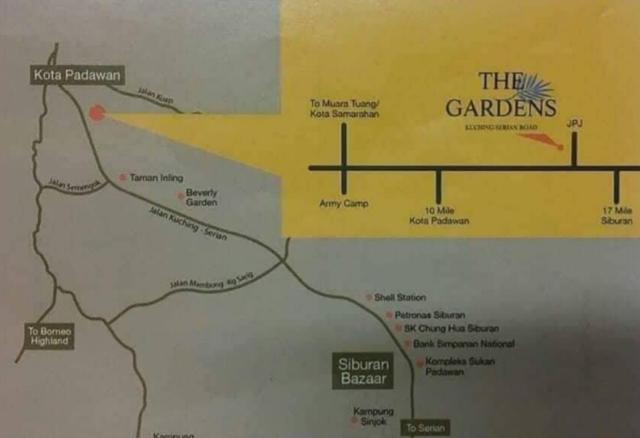 The Garden Location