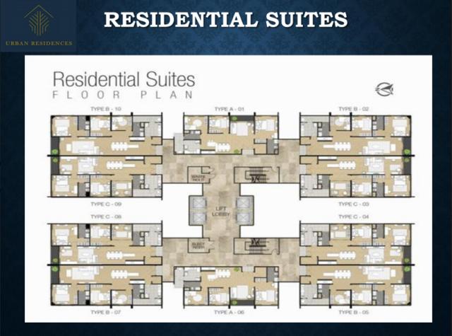 Urban R Suites Layout s