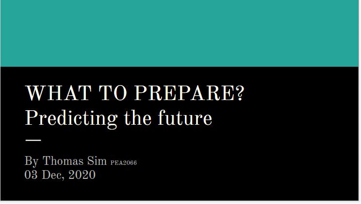 022 Predicting Future