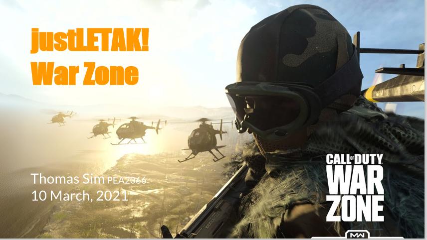 War Zone Featured